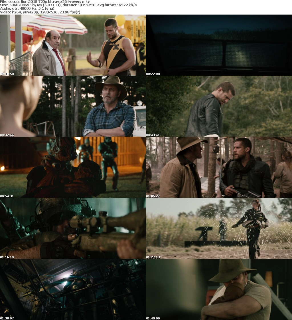 Occupation 2018 720p BluRay x264-ROVERS