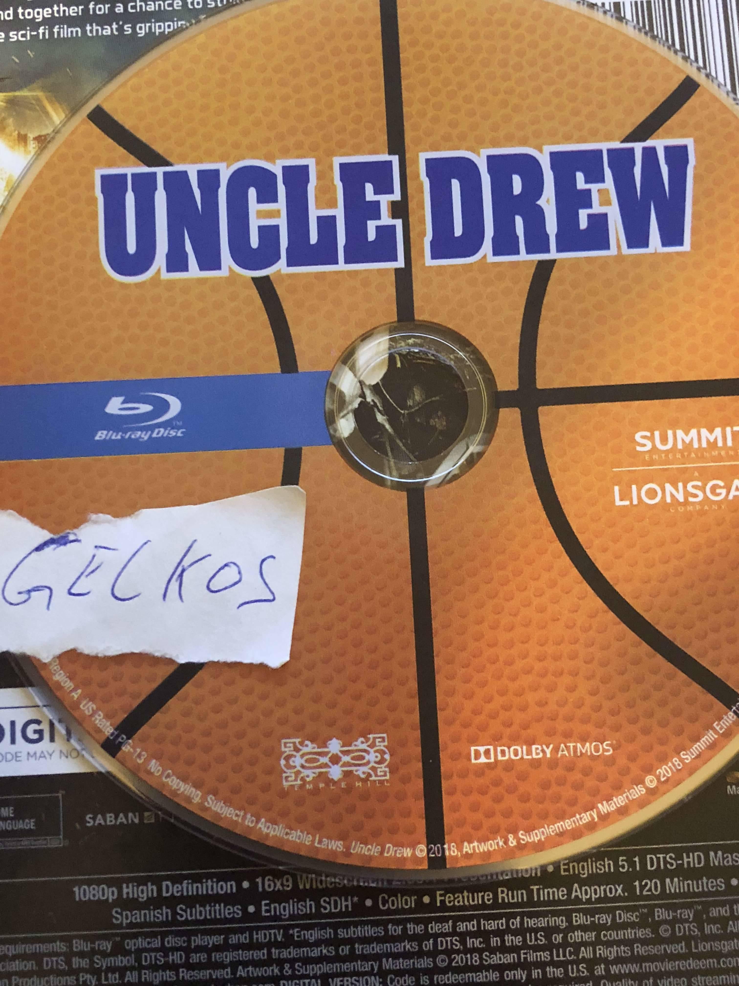 Uncle Drew 2018 720p BluRay x264-GECKOS