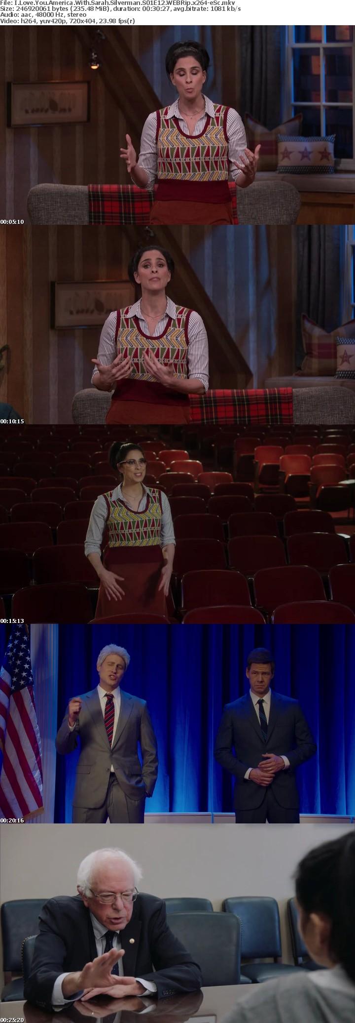I Love You America With Sarah Silverman S01E12 WEBRip x264-eSc