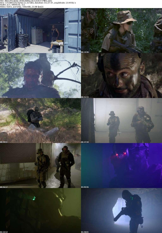 Alien Predator 2018 HDRip AC3 X264-CMRG