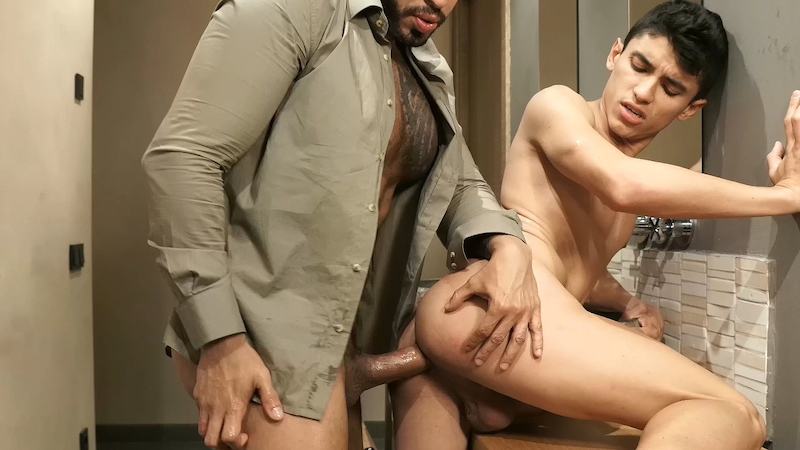 Alpha Top Viktor Rom Invades Joaquin Santana With Dildos (Lucas Raunch)