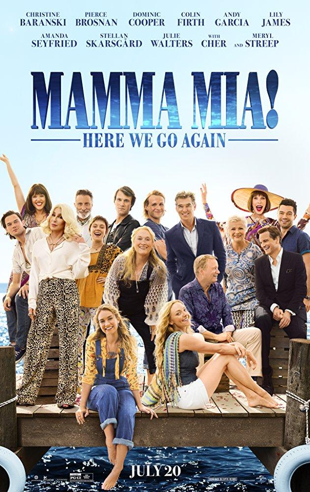 Mamma Mia Here We Go Again (2018) 720p HC HDRip x264 950MB ESubs - MkvHub