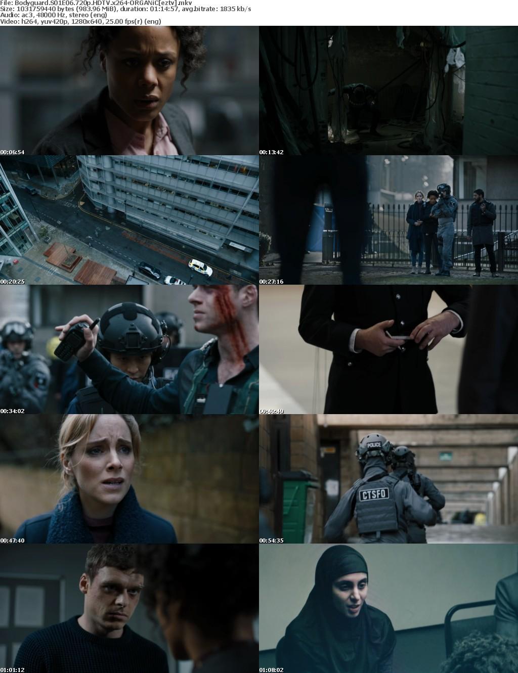 Bodyguard S01E06 720p HDTV x264-ORGANiC