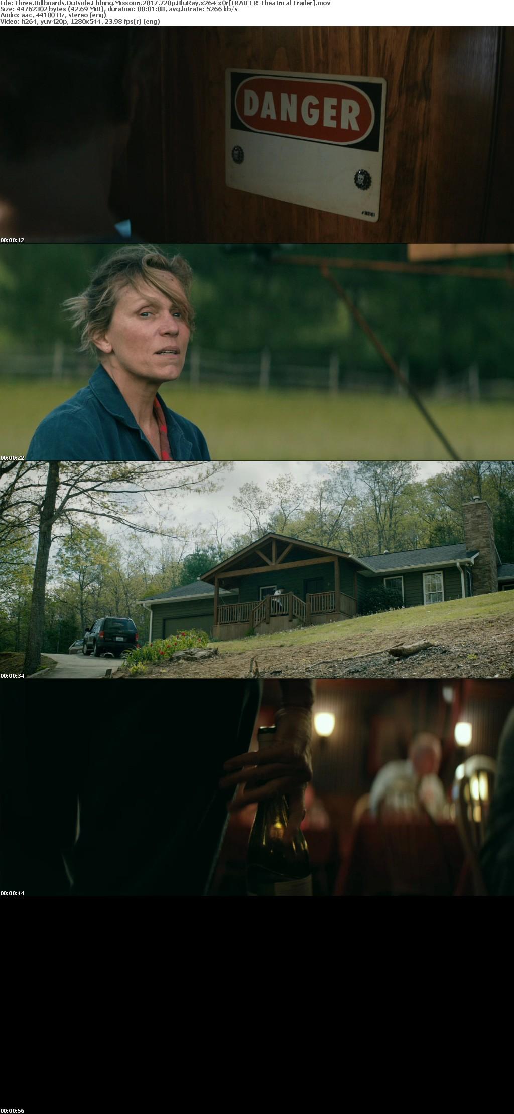 Three Billboards Outside Ebbing Missouri 2017 720p BluRay x264-x0r