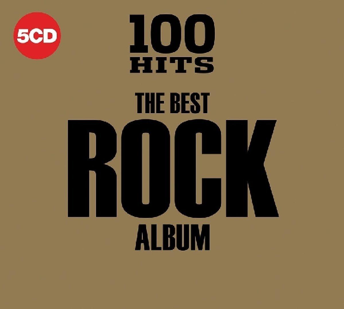 VA - 100 Hits - The Best Rock Album [5CD] (2018)