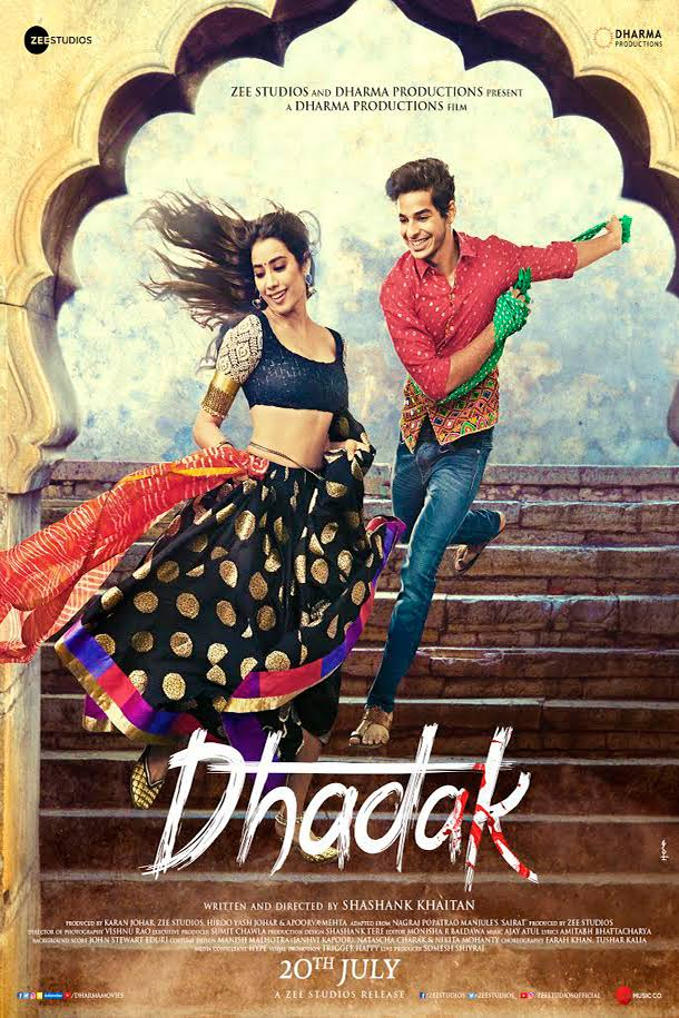 Dhadak (2018) Hindi 1080p WEB-Rip x264 AC3 DD5 1 - Esub ~ Ranvijay