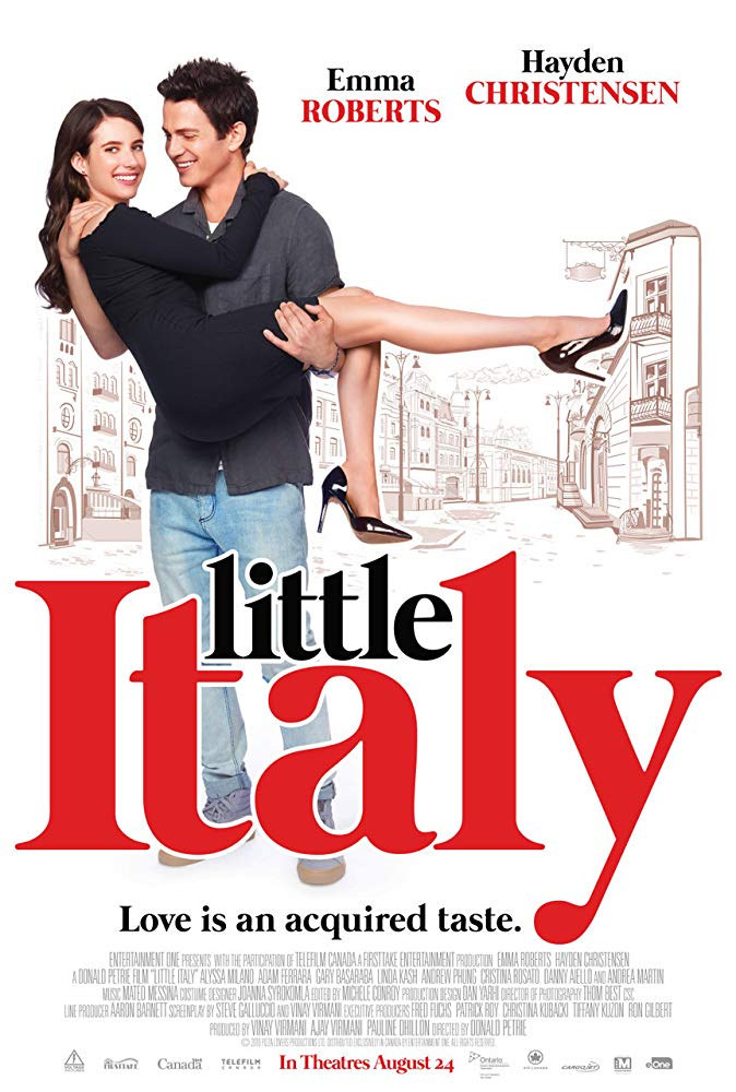 Little Italy (2018) 720p WEB-DL x264 850MB ESubs - MkvHub