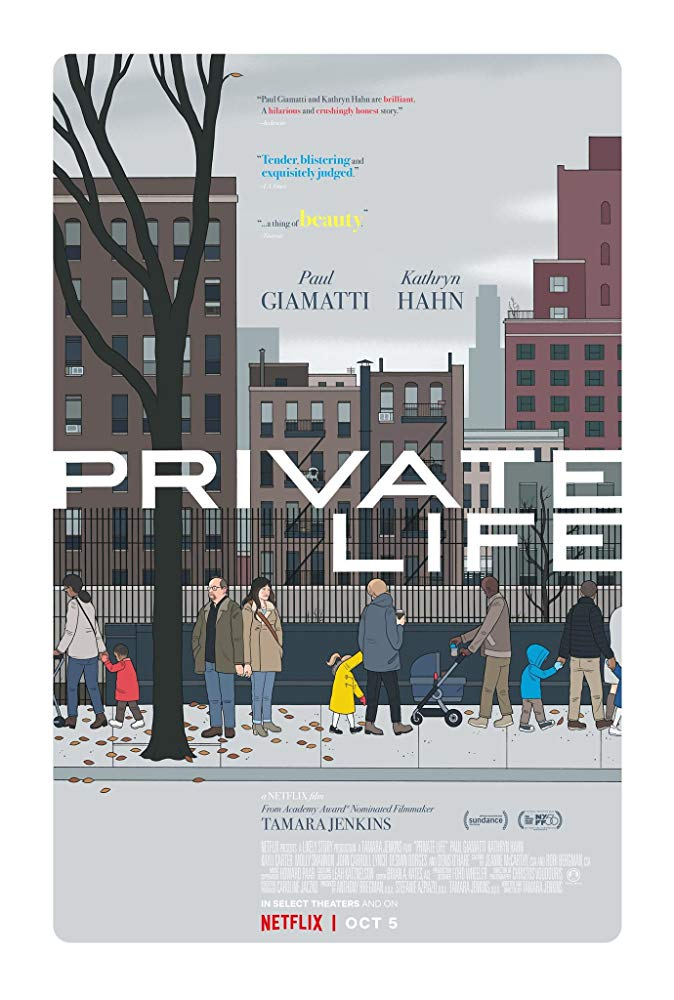 Private Life 2018 HDRip XviD AC3-EVO