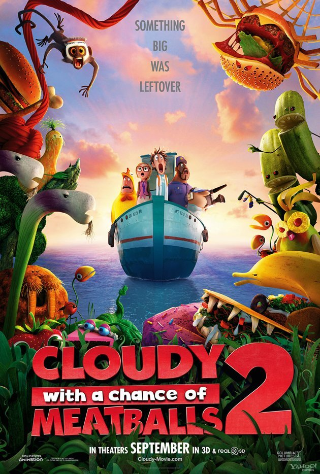 Cloudy with a Chance of Meatballs 2 2013 1080p BluRay H264 AAC-RARBG