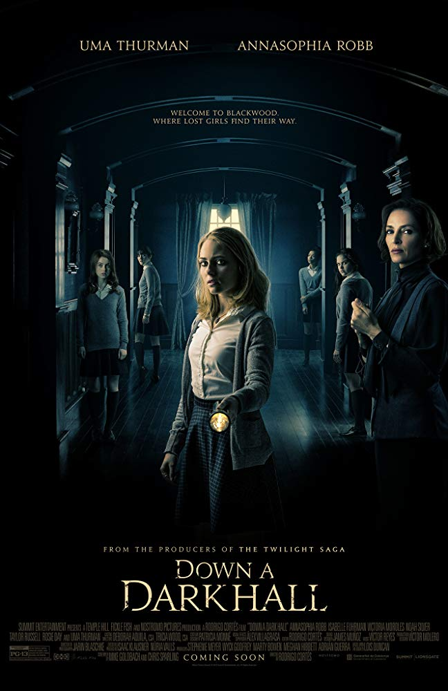Down a Dark Hall 2018 BDRip XviD AC3-EVO