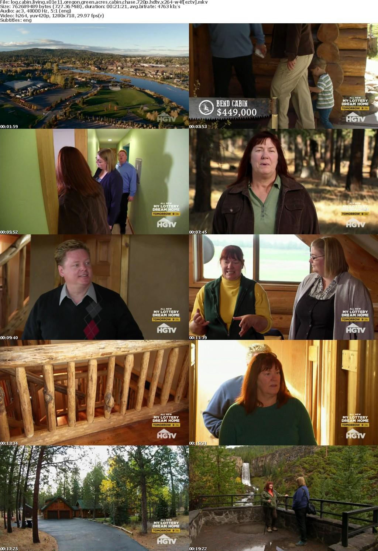 Log Cabin Living S01E11 Oregon Green Acres Cabin Chase 720p HDTV x264-W4F