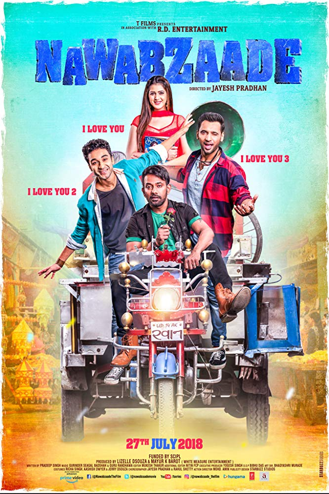 Nawabzaade (2018) Hindi 720p HDRip x264 AAC - Downloadhub