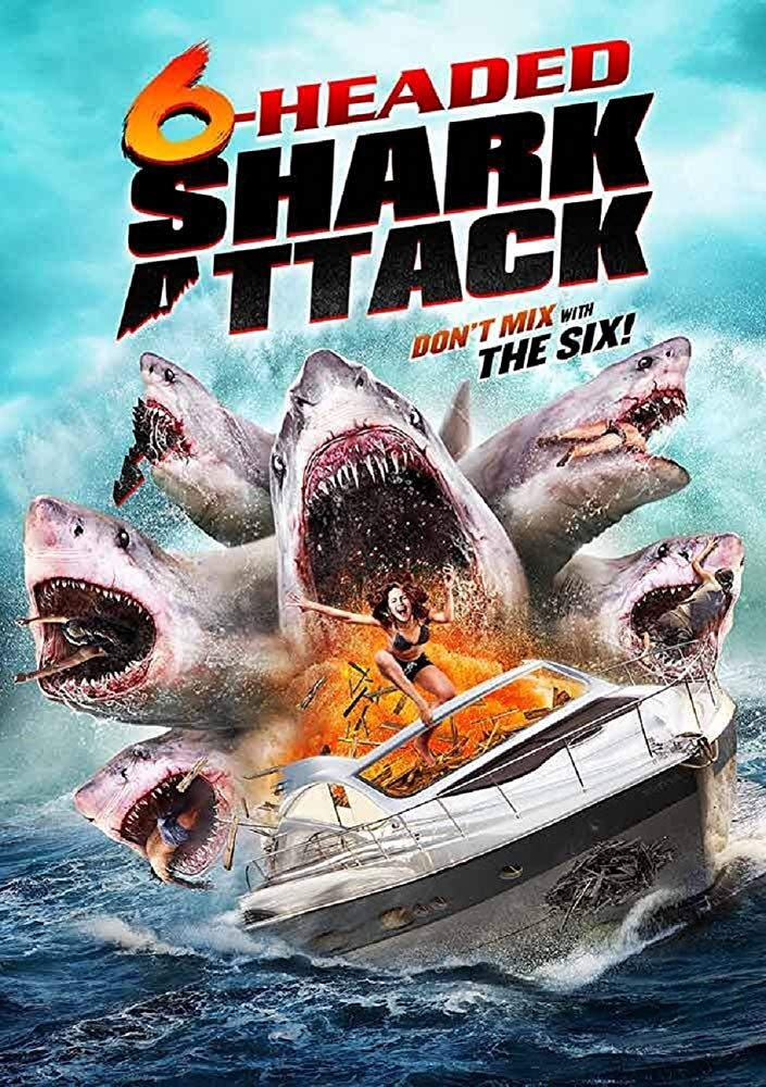 6 Headed Shark Attack 2018 BRRip XviD AC3-EVO