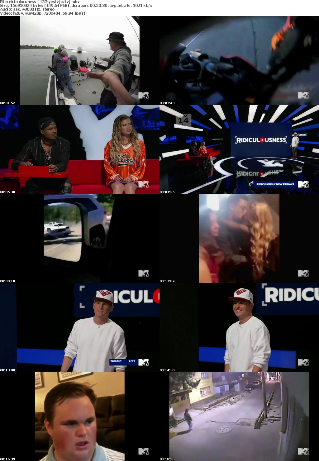 Ridiculousness S11E37 HDTV x264-YesTV