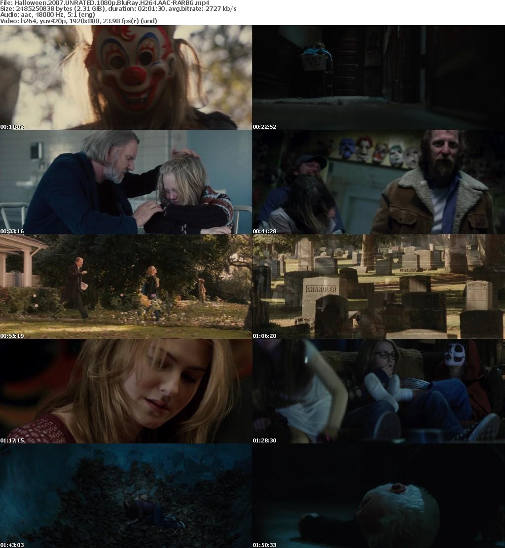 Halloween (2007) UNRATED 1080p BluRay H264 AAC-RARBG