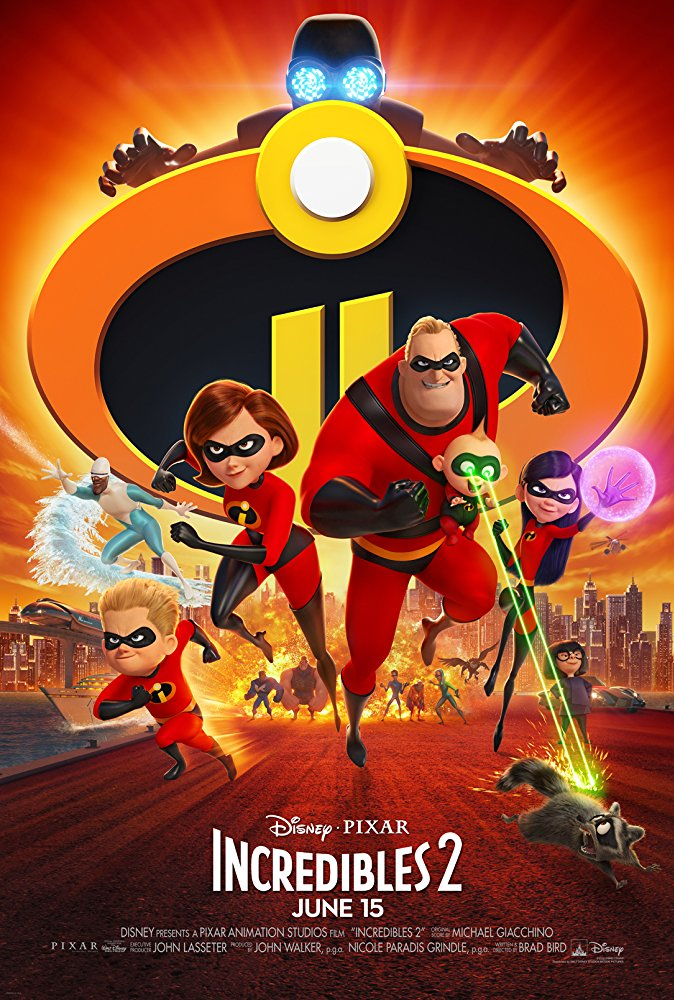 Incredibles 2 (2018) 720p HDRip x264 AAC by Full4movies