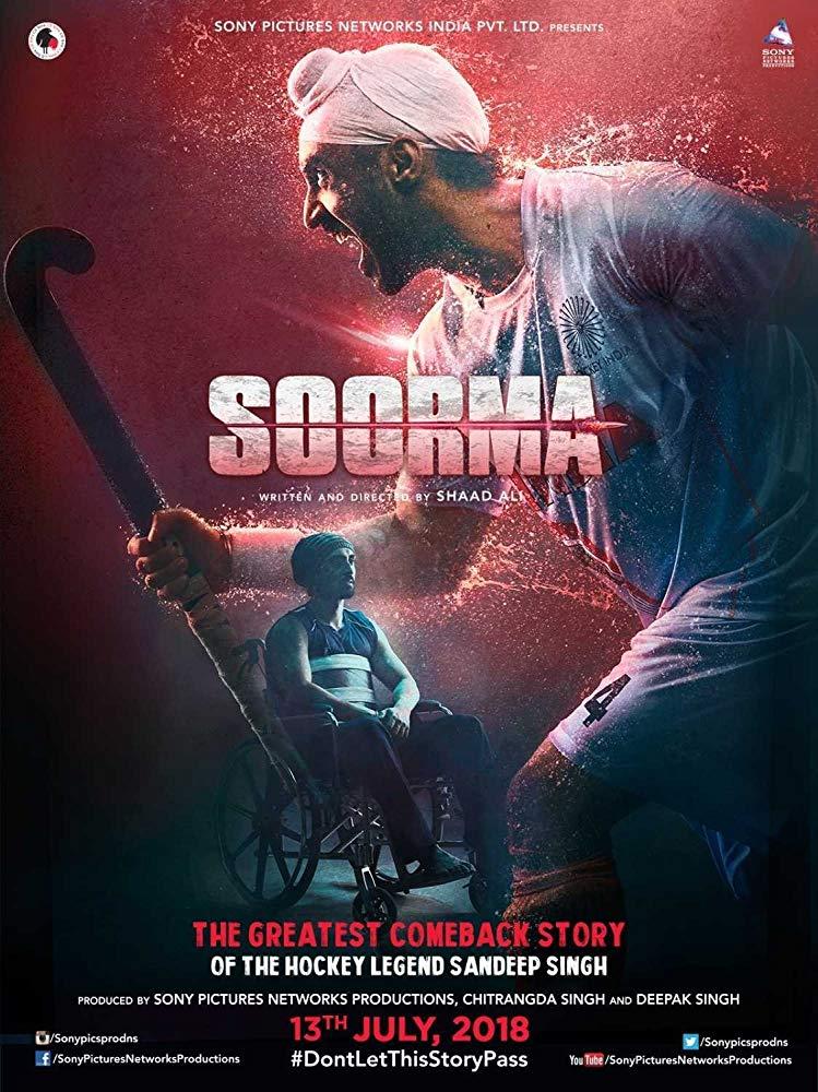 Soorma (2018) DVDRip x264 AC3 Subs TmG
