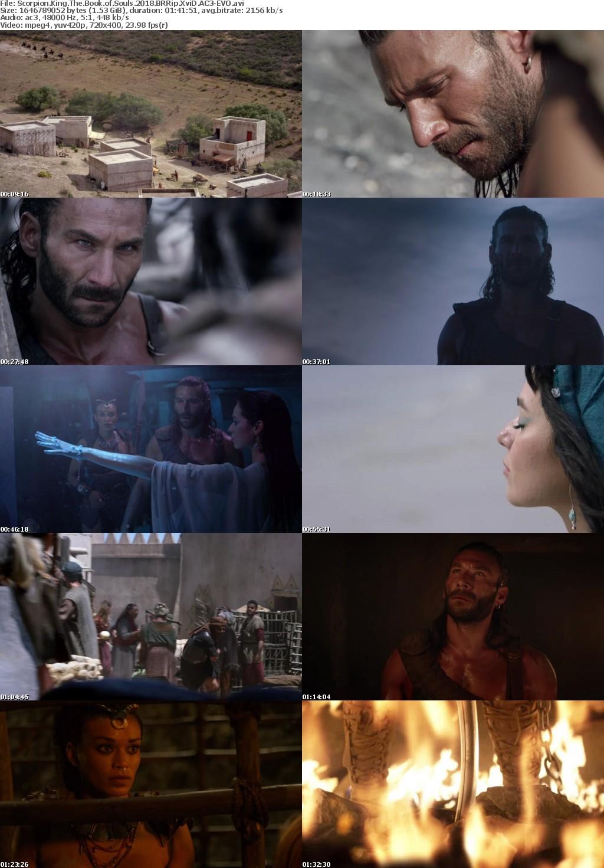 Scorpion King The Book of Souls 2018 BRRip XviD AC3-EVO