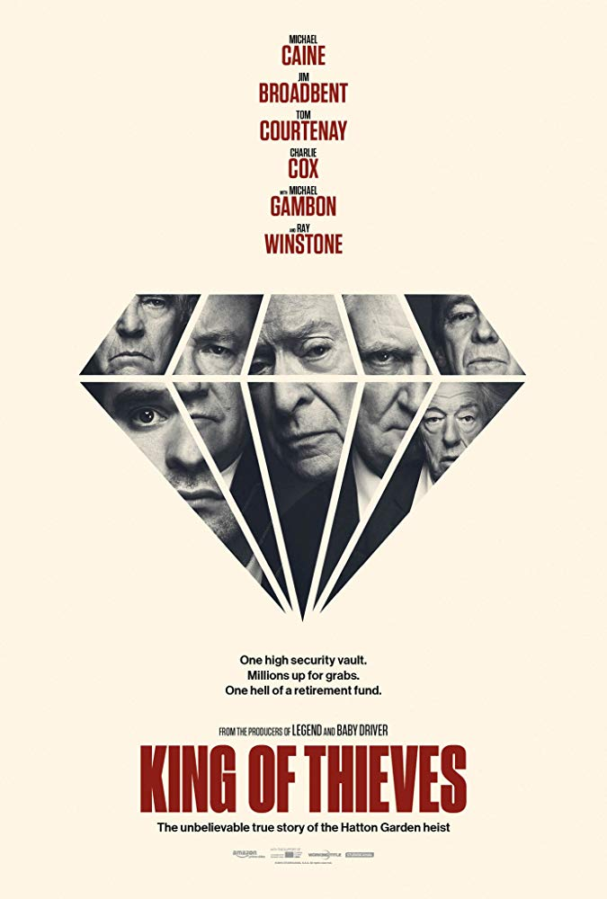King of Thieves 2018 HDTS XviD With Sample LLG