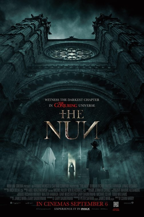 The Nun 2018 720p HDRip BLURRED AC3 X264-CMRG