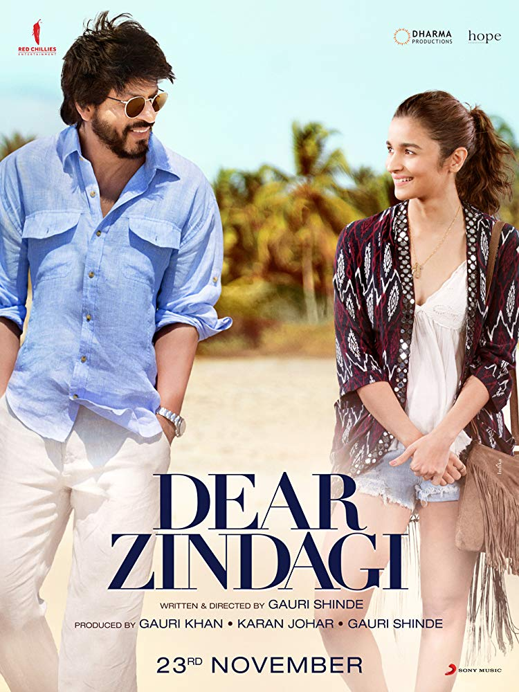 Dear Zindagi 2016 [BluRay] [1080p] YIFY