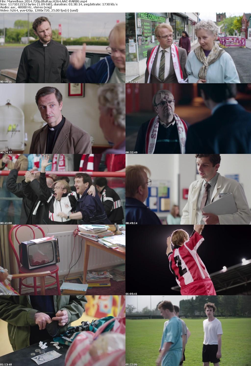 Marvellous (2014) 720p BluRay H264 AAC-RARBG