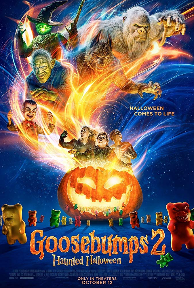 Goosebumps 2 Haunted Halloween 2018 1080p WEB-DL DD5 1 H264-FGT