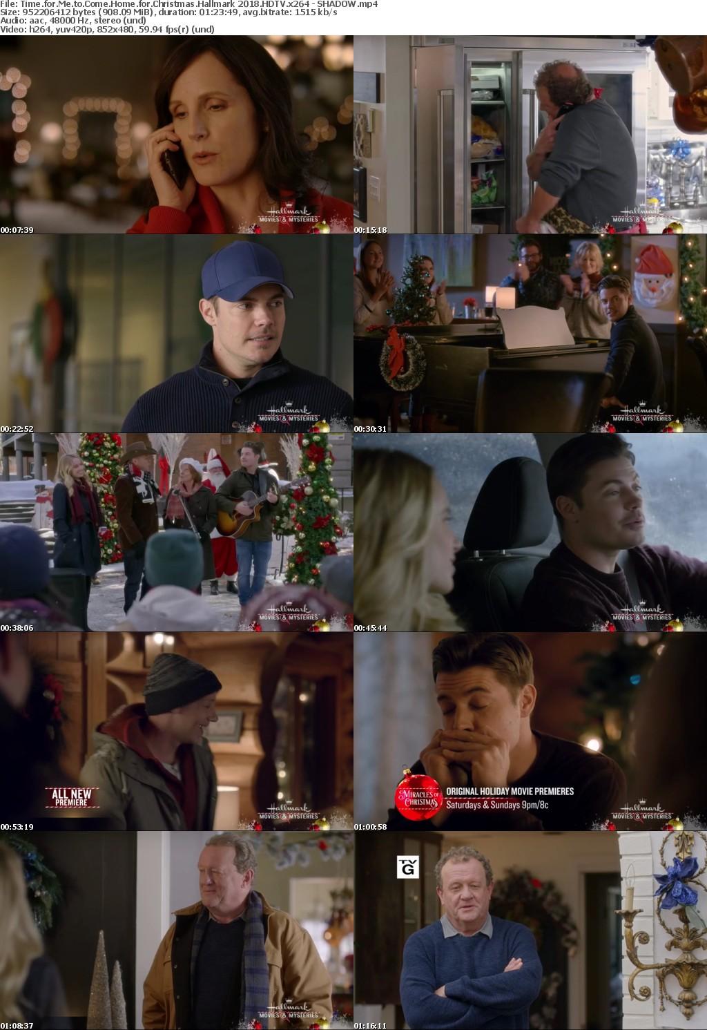 Time for Me to Come Home for Christmas Hallmark (2018) HDTV x264 - SHADOW
