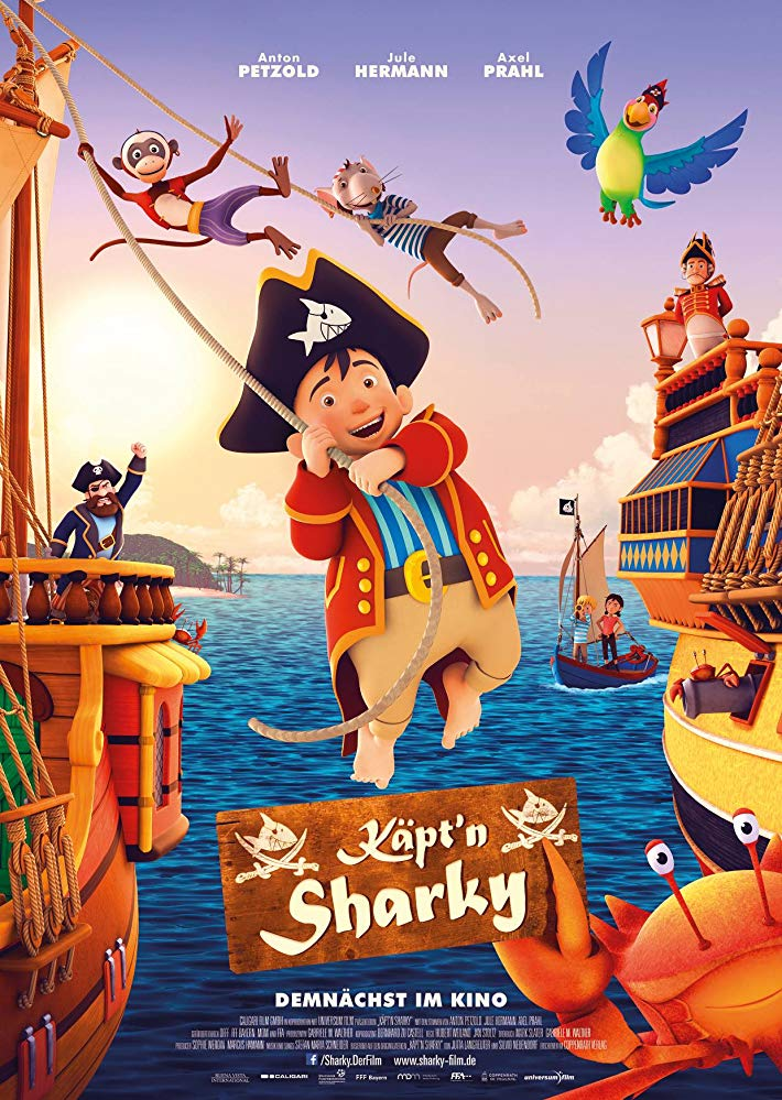 Captn Sharky 2018 HDRip AC3 X264-CMRG[TGx]