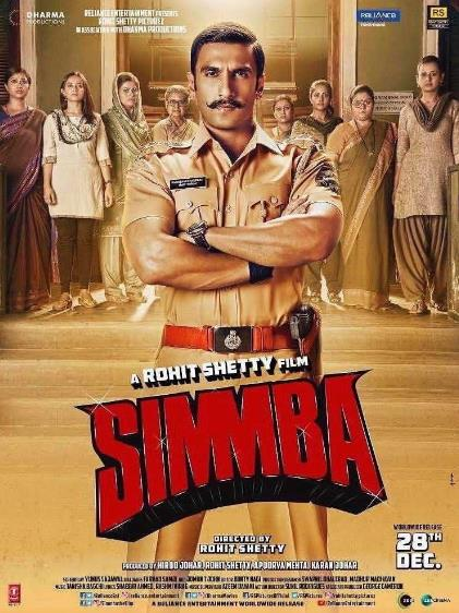 Simmba (2018) Hindi HDCAM HQ Line Audios x264 1.2GB-CraZzyBoY