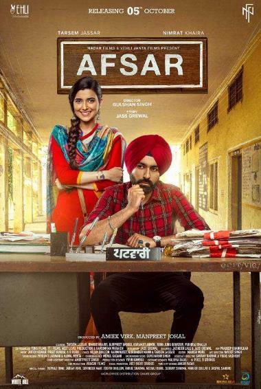 Afsar (2018) Punjabi 720p HDRip ESubs-DLW