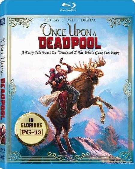 Once Upon A Deadpool (2018) HDRip AC3 X264-CMRG