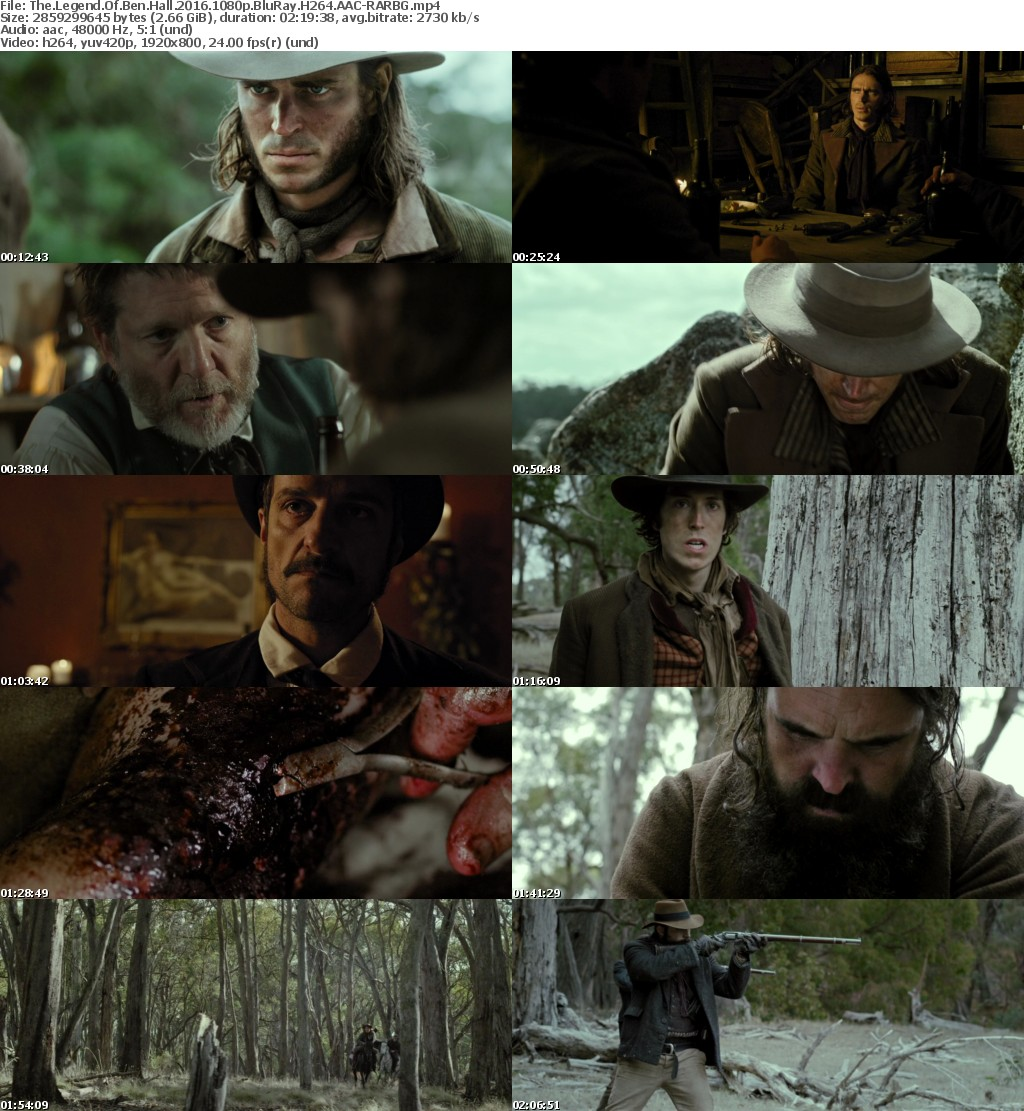 The Legend Of Ben Hall (2016) 1080p BluRay H264 AAC-RARBG