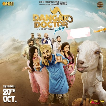 Dangar Doctor Jelly (2018) Punjabi 720p WEB-DL x264 AC3 2 0 ESub-Sun George