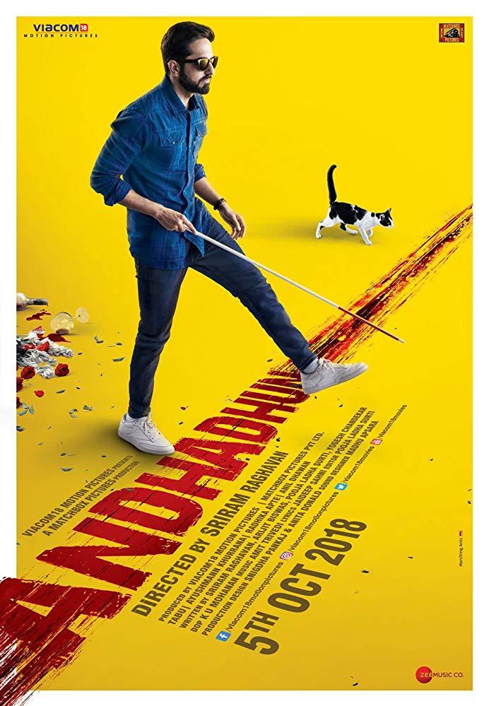 Andhadhun 2018 x264 720p Esub BluRay Hindi GD GOPISAHI