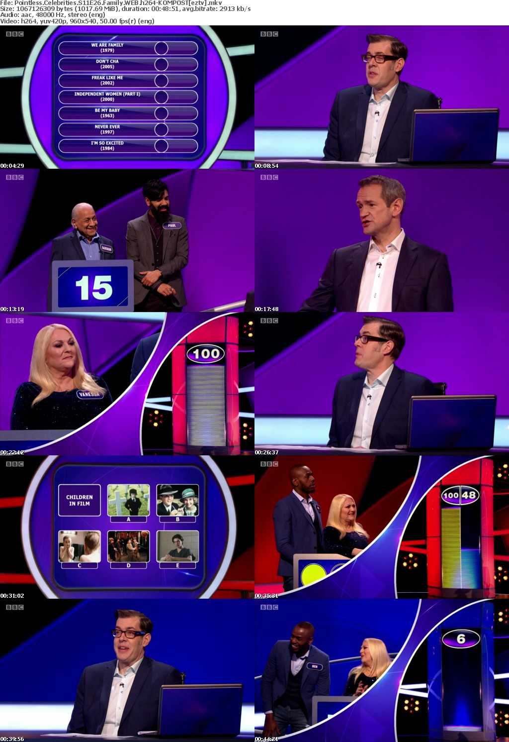 Pointless Celebrities S11E26 Family WEB h264-KOMPOST
