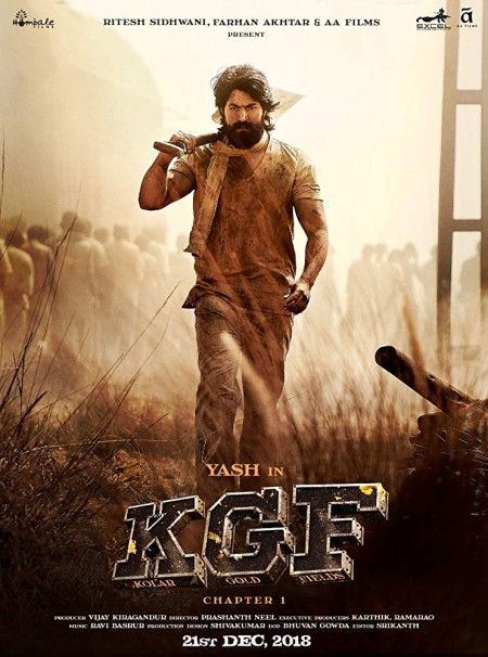 K G F Chapter 1 (2018) Hindi - 720p - HDRip - x264 - 1 4GB - Mp3 (Line Audio) - ESub - MovCr