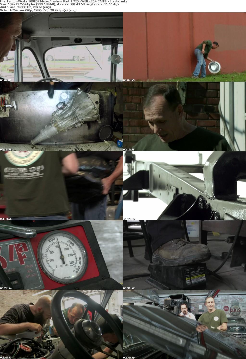 FantomWorks S09E07 Metro Mayhem Part 1 720p WEB x264-CAFFEiNE