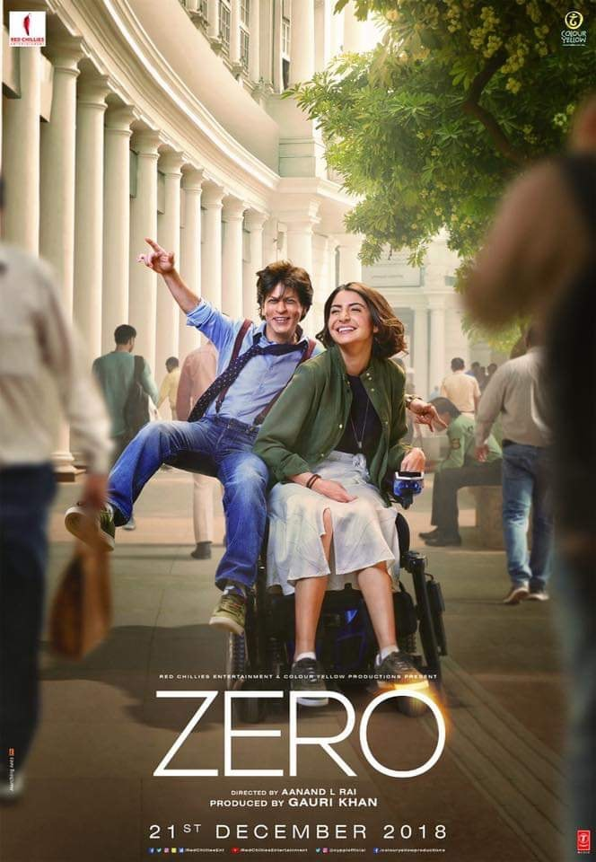 Zero 2018 Hindi 720p HDRip x264 AC3 5 1 With Sample LLG