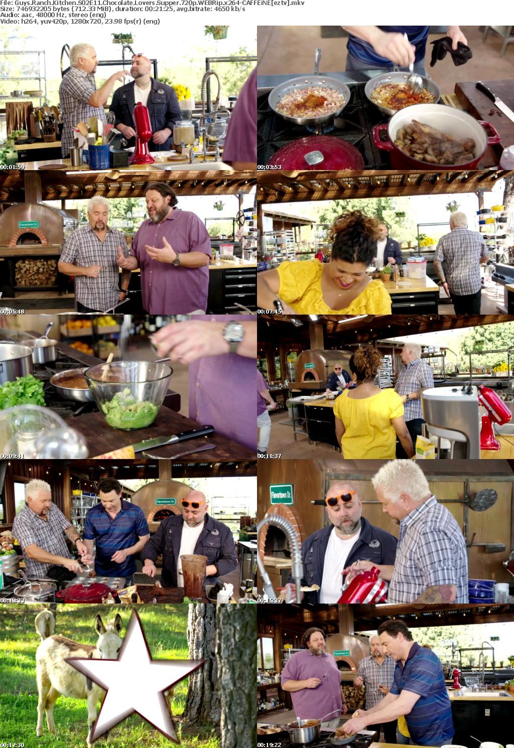 Guys Ranch Kitchen S02E11 Chocolate Lovers Supper 720p WEBRip x264-CAFFEiNE