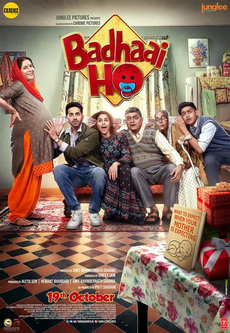 Badhaai Ho 2018 Hindi 720p BluRay x264 ESub [MW]
