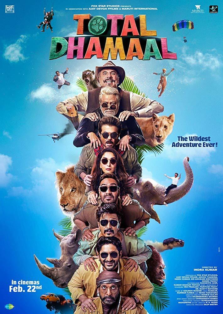 Total Dhamaal 2019 1-3 Desi Pre Rip x264 AC3-DTOne