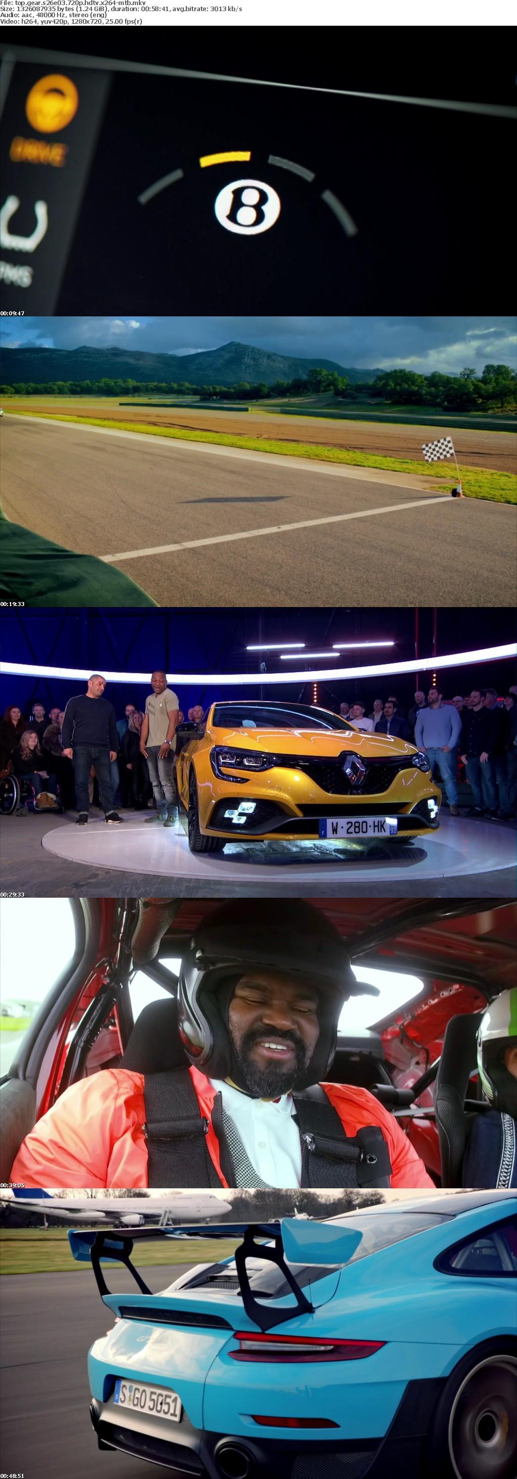 Top Gear S26E03 720p HDTV x264-MTB