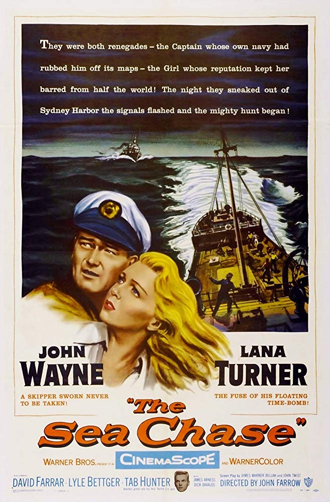 The Sea Chase 1955 [BluRay] [720p] YIFY