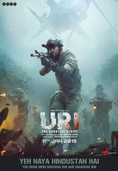 URI The Surgical Strike 2019 Hindi 720p HDRip x264 AAC-BOLLYROCKERS