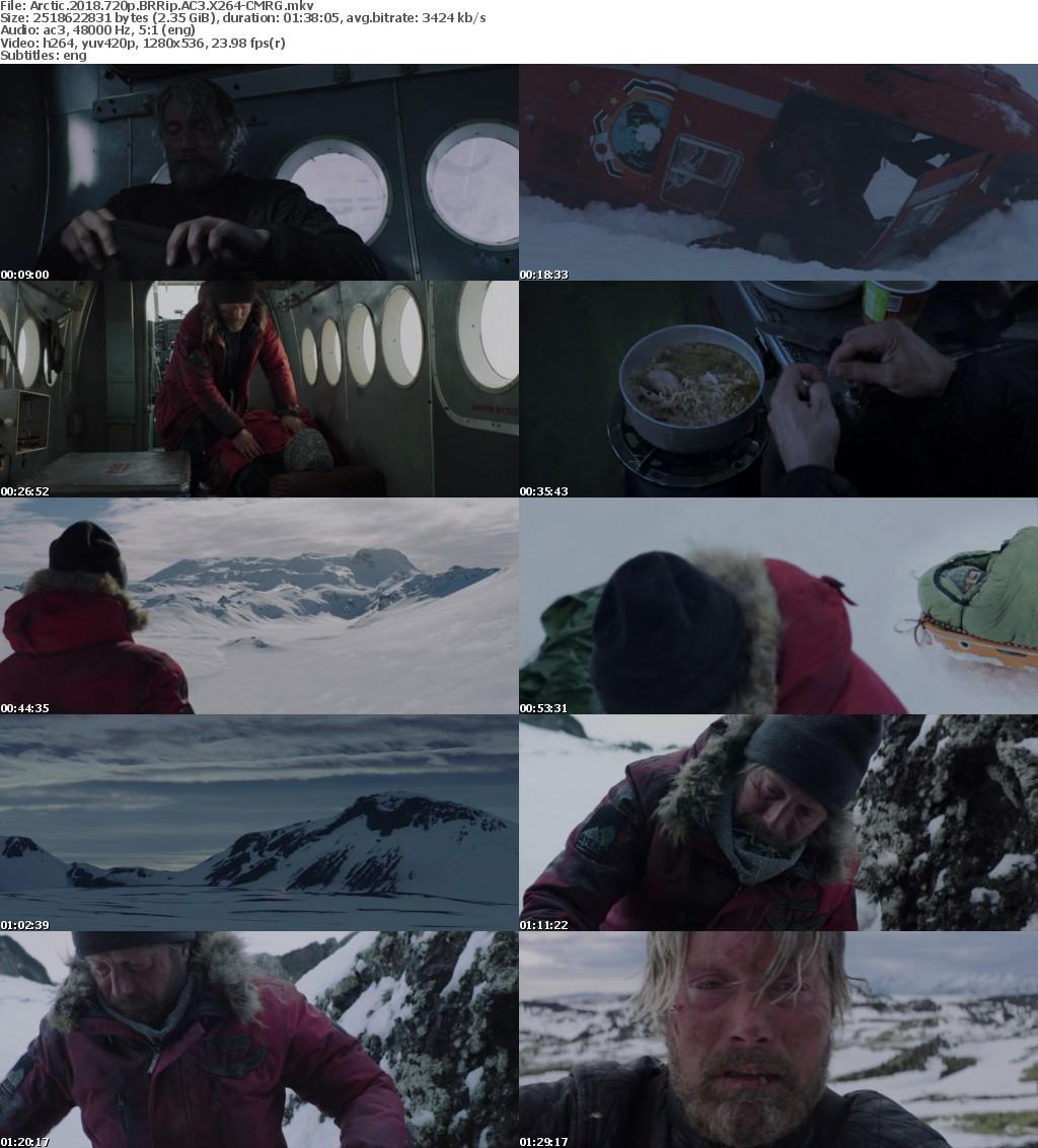 Arctic (2018) 720p BRRip AC3 X264-CMRG