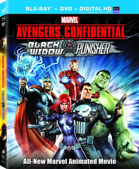 Avengers Confidential Black Widow and Punisher (2014) 1080p BRRip 5.1 - 2.0 x264 ...