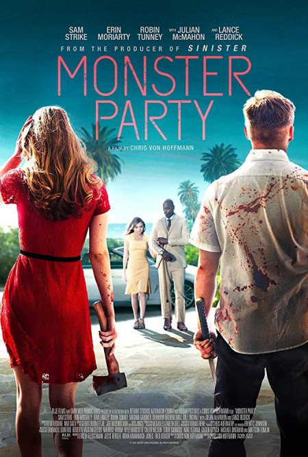 Monster Party (2018) 1080p BluRay 1400MB DD5.1 x264-GalaxyRG