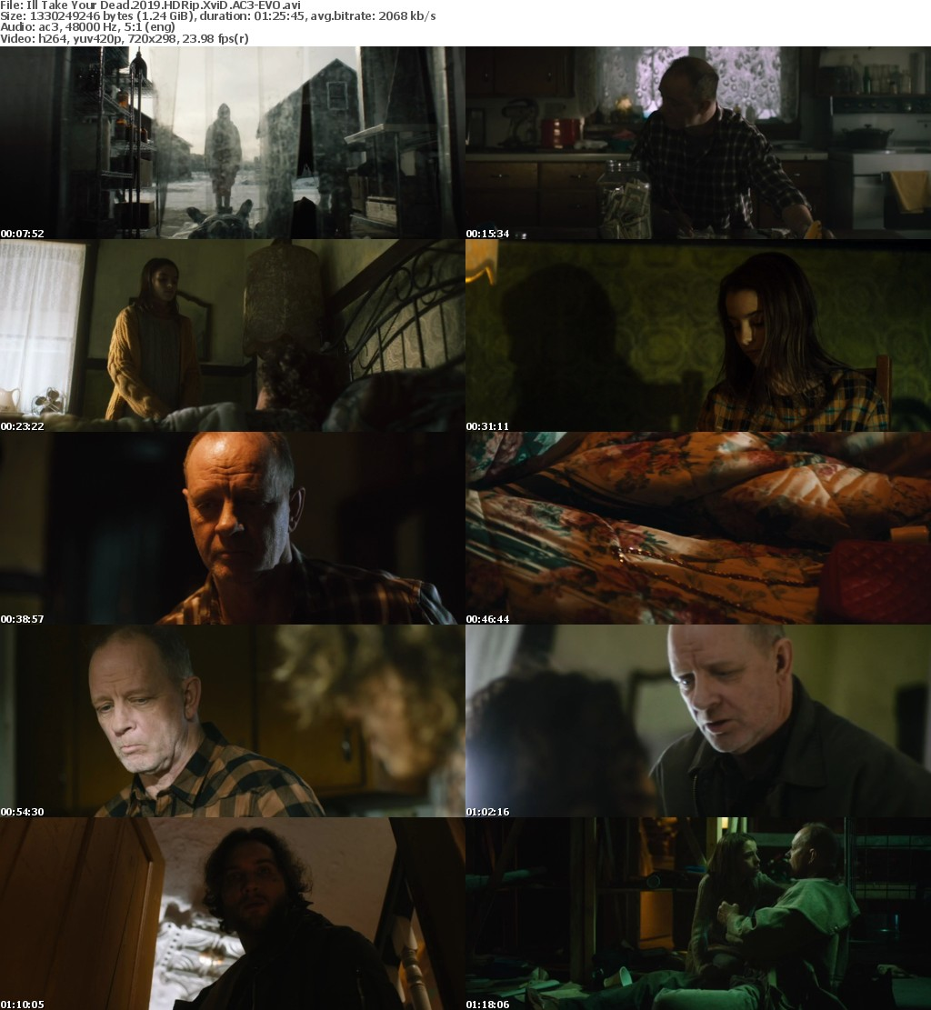 Ill Take Your Dead (2019) HDRip XviD AC3-EVO