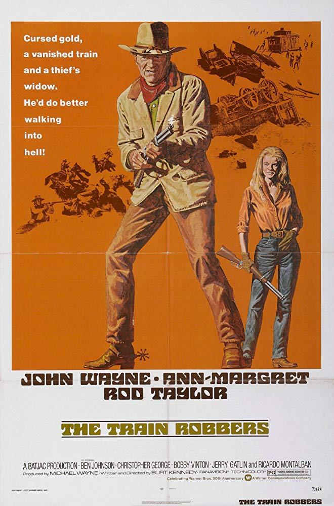 The Train Robbers 1973 BRRip XviD MP3-XVID